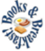 books and breakfast logo showing bacon, eggs and toast