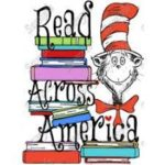 read across america poster with cat in the hat
