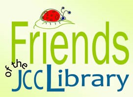 friends library logo green with a ladybug