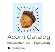 acorn catalog app link to page