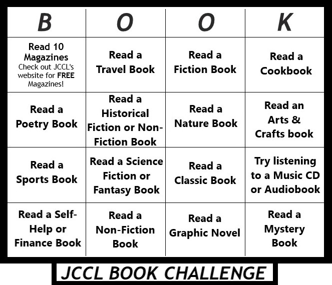 book bingo chart
