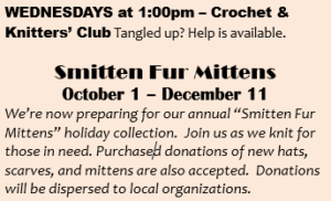 Smitten Fur mittens Poster